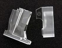 エンジニアリングプラスチック成形・プラスチックマグネット成形・射出成形の株式会社エムジー/車載パネルディスプレイ用導光体